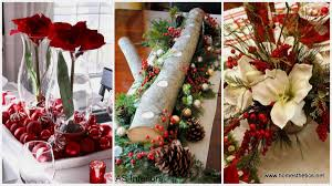 22 christmas centerpieces that will embellish your dining room