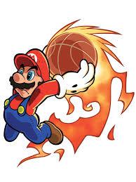 mario hoops 3 3 ds character u0026 artwork