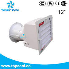 high flow exhaust fan china compact structure high flow direct drive exhaust fan 12