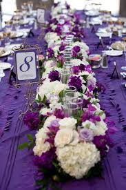 purple and white wedding 15 purple green white centerpieces sky lobby wedding jpg 576 864