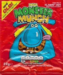 Halloween Monster Munch Cheeseburger Crisps U0026 Other Stories Mega Monster Munch Flamin U0027