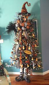 Lighted Halloween Trees This Is A Samhain Witch Tree But What A Great Idea And Could Be