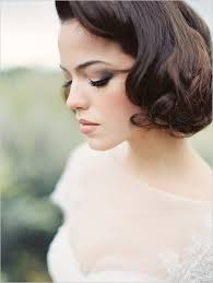 Vintage Wedding Hairstyles 20 Creative Short Wedding Hairstyles For Brides Tulle