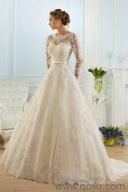 christian wedding gowns white christian wedding gown with buckram and veil almost