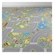 lino chambre bébé tapis salle à manger ou chambre enfant lino routes voitures plan