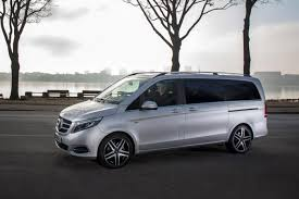 luxury minivan mercedes new mercedes v class luxury executive mpv airport transfers the