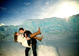landscaping denver co ice castles breckenridge colorado winter engagement landscape dip
