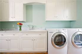 White Laundry Room Cabinets Pantry And Laundry Spacesolutionsaz