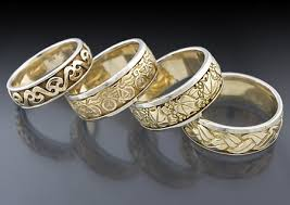 carved wedding bands men s carved wedding rings celtic jewellery store