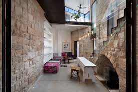 Glass And Concrete House by Ancient Stone Home Conversion Into A Modern One Digsdigs