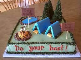 best 25 camp cake ideas on pinterest camping birthday cake
