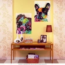 australian shepherd yellow aussie australian shepherd dean russo dog wall decal pet wall