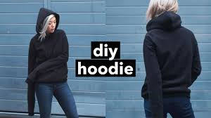 diy hoodie from scratch withwendy youtube
