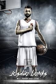 player banner photo template streetball banners template and