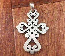 avery crosses avery sterling silver mission cross pendant charm retired