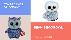 beanie boos owl toys u0026 games amazon