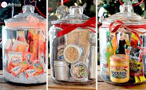 inexpensive gift baskets gifts in a jar simple inexpensive and one