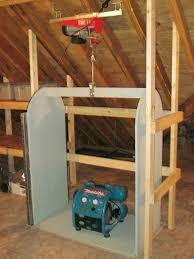 building attic storage lift