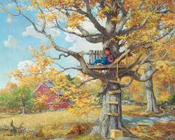 jigsaw puzzles tree house 1000 puzzle by white mountain