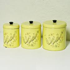 Kitchen Decorative Canisters by Blue Kitchen Canister Sets Kenangorgun Com