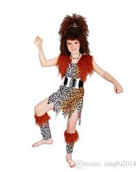 African Halloween Costumes Halloween Cosplay Dancing Clothes African Savage Native