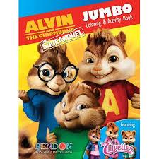 Alvin And The Chipmunks Christmas Ornament - alvin and the chipmunks coloring and activity book walmart com