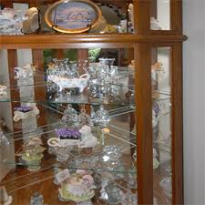 Curio Cabinets Shelves Wallingford Glass Service Glass Tops U0026 Shelves