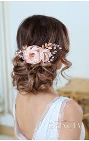 wedding hair flowers bridal headbands topgracia handmade bridesmaid bridal hair