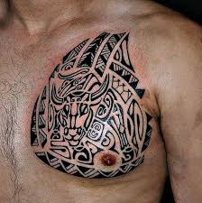 155 best tribal designs and meanings tattoozza 144 chest tattoos
