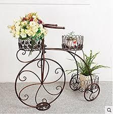 Living Room Bike Rack by Indoor Flower Racks Iron Floor Flower Stand Bike Flower Rack