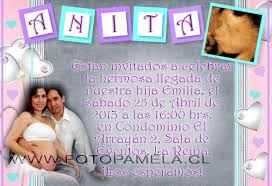 invitaciones y recuerdos baby shower