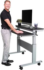 rolling stand up desk stand up desk store adjustable stand up desk top 10 best stand up