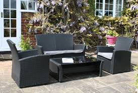 Black Outdoor Wicker Chairs Outdoor Wicker Furniture Design And Comfort Home Design By Fuller