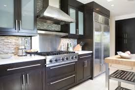 kitchen cabinets with frosted glass native woods contemporary kitchen los angeles by tim clarke