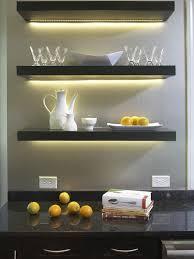 Kitchen Shelf Ideas Led Lighted Floating Shelf 16 Image Wall Shelves