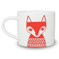 foster fox mug
