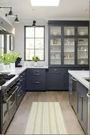Kitchen Without Upper Cabinets by Best 25 Upper Cabinets Ideas On Pinterest Navy Kitchen Cabinets