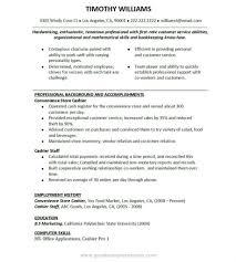 Fast Food Job Resume by Resume Work Experience Fast Food Virtren Com