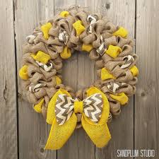 fall wreaths how to make multi colored burlap wreath