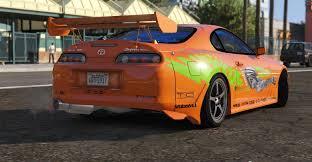toyota fast car brian o u0027conner toyota supra fast u0026 furious gta5 mods com