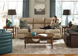 Flexsteel Curved Sofa by Country Farm Furniture