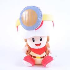 captain toad sitting 7 plush super mario tokyo otaku mode shop