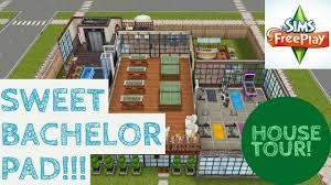 sims freeplay sweet bachelor pad house tour youtube