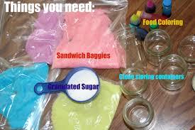 diy colored sanding sugar theinsanehousewife