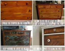 How To Repaint A Nightstand How To Strip Painted Furniture