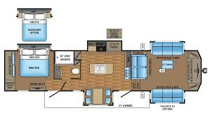 Bunkhouse 5th Wheel Floor Plans by New 5th Wheels For Sale Michigan Rv Dealer