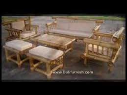 Bamboo Chairs For Sale Bamboo Furniture From Bali Youtube