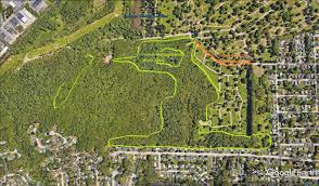 Map Of Portland Maine Forest Management Evergreen Cemetery Portland Me
