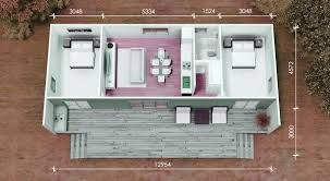 Two Bedroom Granny Flat Floor Plans Granny Flats In Sydney Installation