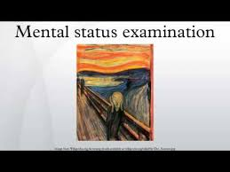 mental status exam template mental status examination youtube